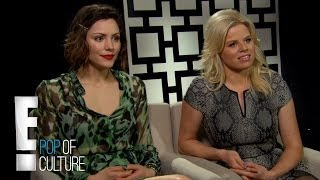 """Smash"" Actresses on Golden Globes 2013 