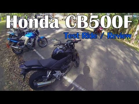 Honda CB500F 2013 Review