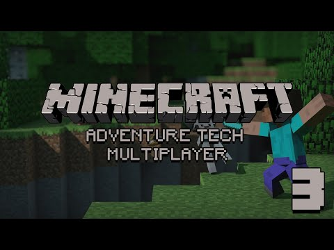 Zagrajmy na Adventure Tech Multiplayer - #3 Mini farma [MINECRAFT]