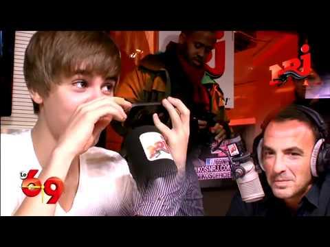 Justin Bieber prank calls usher