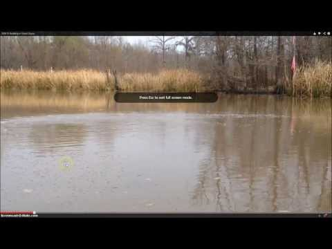 2/24/2014 -- NEW GAS BUBBLES appear in Louisiana .. 1/4 mile NE of Bayou Corne