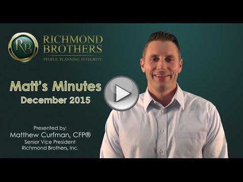 Matt's Minutes December 2015
