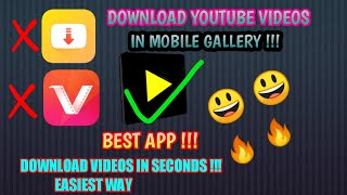 How To Download/Save YouTube Videos In Mobile | Techno Unique Tricks | 2020