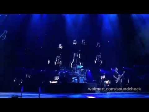 Nickelback - Lullaby - Live Soundcheck Wallmart 2012 video