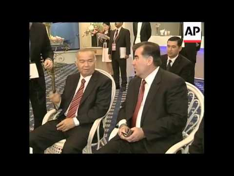 Shanghai leaders meet the Iranian president, watch fireworks