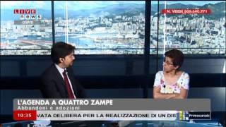 """2014 07 09 - Primocanale - Estratto dal programma """"L'agenda a 4 zampe"""""""