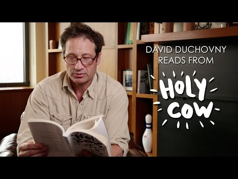 David Duchovny - HOLY COW: David reads from the book