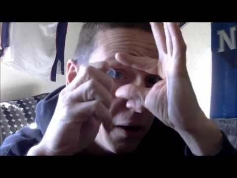 man pulls his eye out.( must see )