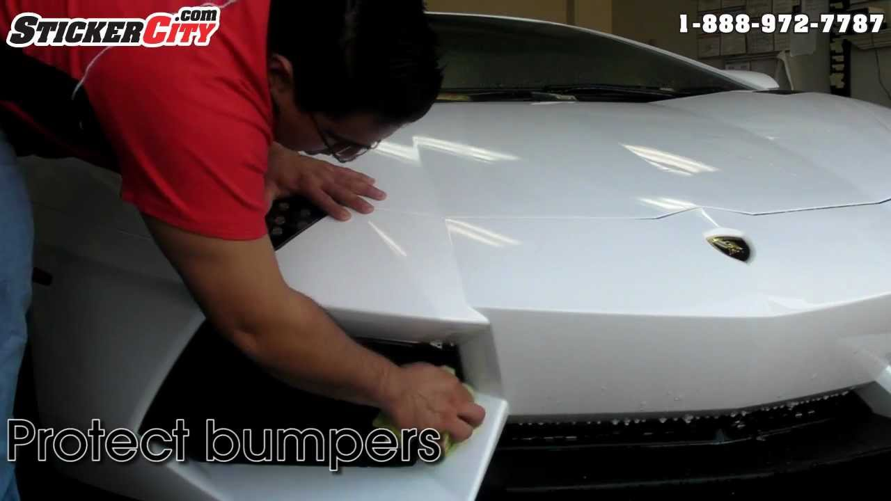 3M Paint Protection Film >> 3M Clear Bra Protecting a Car Against Getting Keyed - YouTube