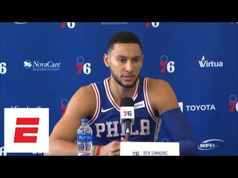 Ben Simmons confident in Philadelphia 76ers' roster for 2018 NBA season   ESPN