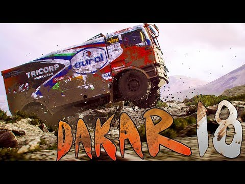 Dakar 18 - Truck Racing On The Dunes - Dakar Rally Simulator - Dakar 18 Gameplay