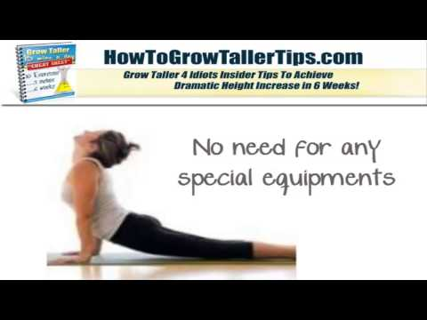 Grow Taller 4 Idiots How to Grow Taller at ANY AGE