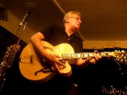 Jim Mullen at Wakefield Jazz Club December 2008