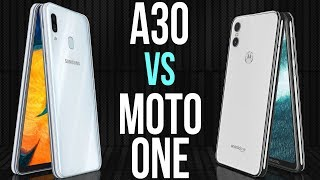 A30 vs Motorola One (Comparativo)