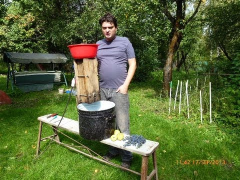 Дробилка для винограда своими руками фото 301