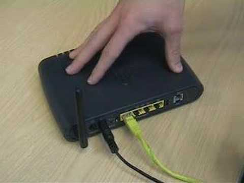 Connecting an ADSL broadband router