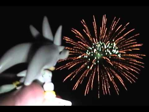 Cat In The Hat Sees Fireworks
