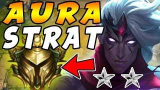 NEW RANKED TFT GOLD ELO Gameplay   Aura Team Strategy - Consistent Top 4 VICTORY