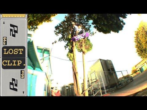Andrew Pott Lost & Found Skateboarding Clip #88 Hardflip Roof Gap