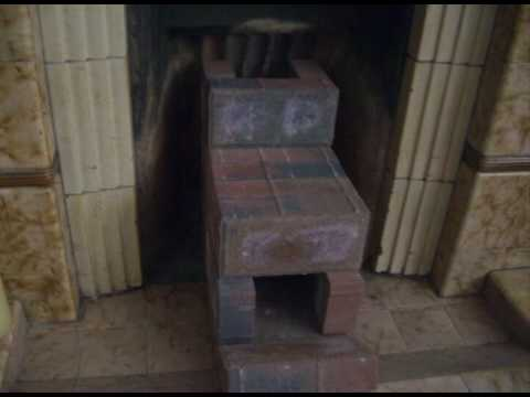 Adventures in eco living #01 ... Brick rocket stove version 1