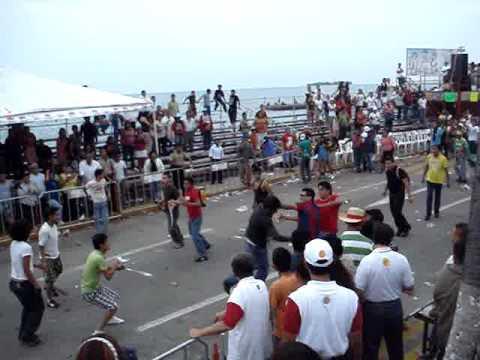 Bronca en el Carnaval de Veracruz 2010