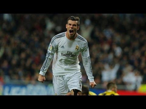 (BARCELONA 1 X 2 REAL MADRID - 16/04/2014) - Golaço de Bale!
