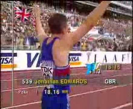 Jonathan Edwards Triple Jump WR