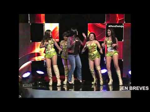 Maricarmen Marín bailó con las Agua Bella de Yo Soy