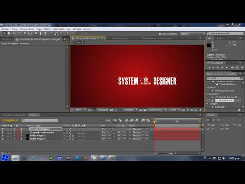Tutorial - Intro En After Effects CS4 [Proyecto Gratis] S1D Parte1.