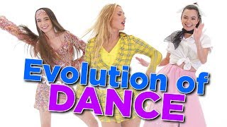 Evolution of Dance Challenge with Montana Tucker - Merrell Twins