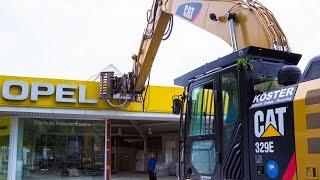 Abbruch Opel Autohändler in Marl Teil I