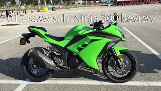 2015 Kawasaki Ninja 300 Motorcycle Review