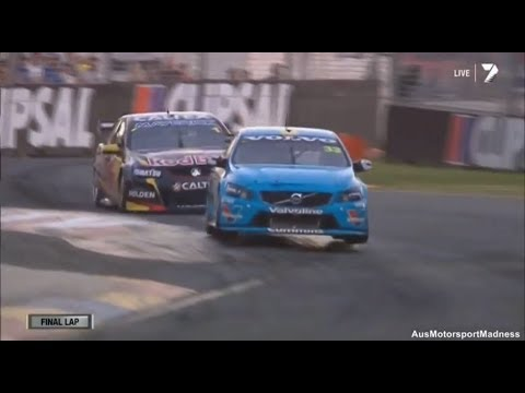 V8 Supercars | Mclaughlin vs Whincup Awesome Finish! - 2014 Clipsal 500