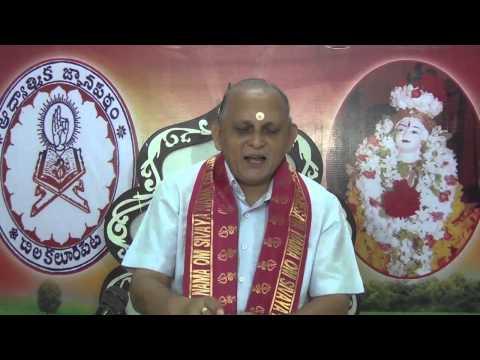 """""""Upadesa Saram"""" Of Bhagavan Sri Ramana Maharshi : Day 11 :Shlokam 17  18 : Sri Chalapathirao"""
