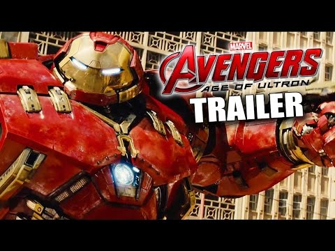 AVENGERS: Age of Ultron (2015) Official Teaser Trailer Review