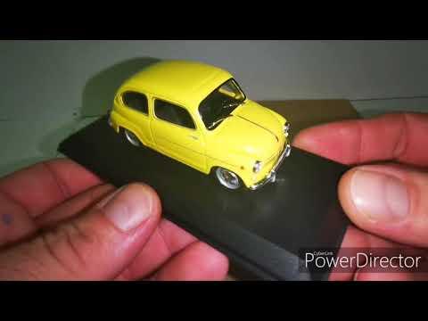 Deagostini/Régi idők legendás autói/42.szám Fiat 600/