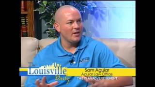 Personal Injury Attorney Sam Aguiar on the Louisville Daily Show - August 21, 2013