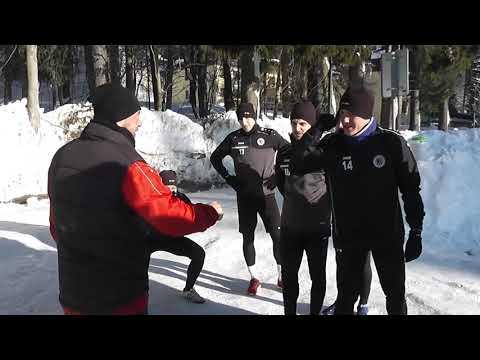 Firbacher vs. Frťala - střižba o odpuštění 1200 metrů z tréninku
