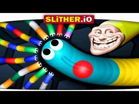 КАК ВСЕХ ОБХИТРИТЬ в Slither.io?? УБИЙСТВО ЧЕРВЕЙ!! Охота на ТОП #1!!