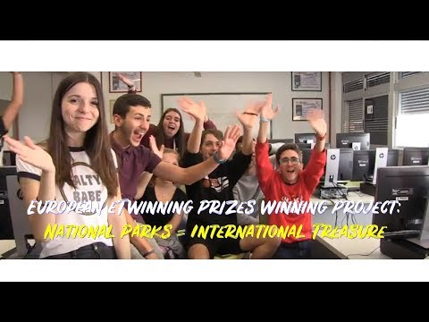 European ETwinning Prizes Winning Project - National Parks = International Treasure