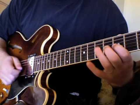 Advanced Blues Guitar Lesson : Playing Over The I IV V