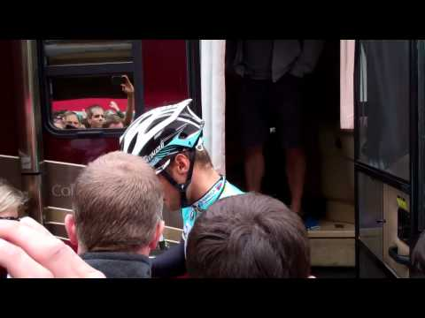 Tom Boonen at start of stage 1 of Amgen Tour of Cailfornia 2012