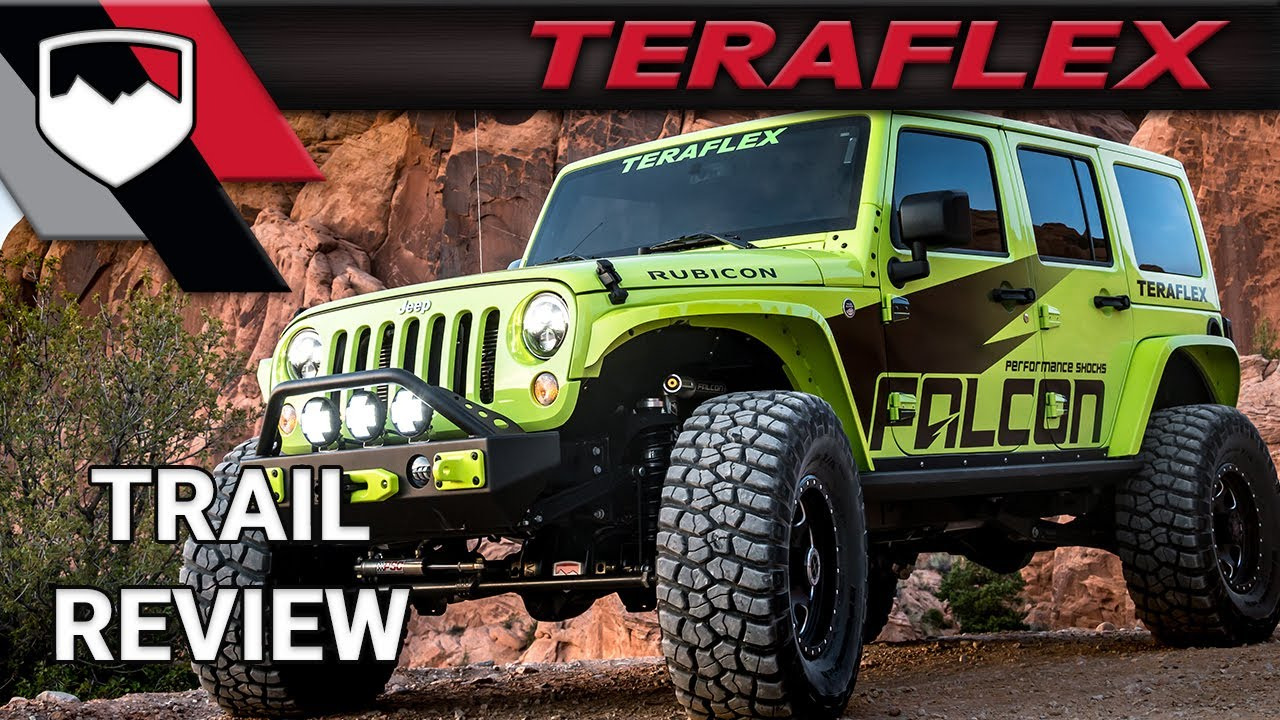 Teraflex Trail Review The Rubicon Trail Youtube