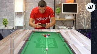iPhone X vs Galaxy S9+ AR Gaming - ARKit vs ARCore