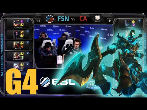 Curse Academy vs Team Fusion | Game 4 Round 2 NA LCS Expansion Tournament | CA vs FSN G4 60FPS