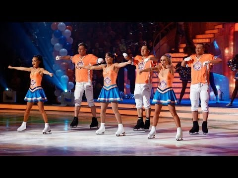 Beth Tweddle - Dancing on Ice 2014 - week 10
