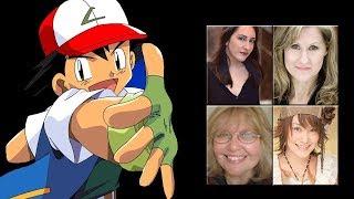 """Characters Voice Comparison - """"Ash Ketchum"""""""