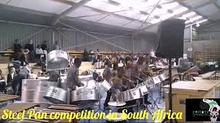 The Power and Melodious Sound in playing Steel Drums