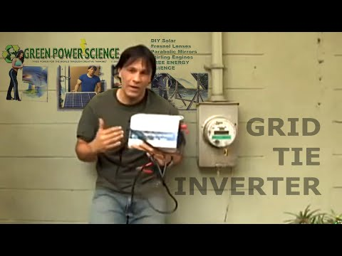 GRID TIE INVERTER SOLAR POWER EASY SOLAR SOLUTION POWER INVERTERS