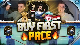 FIFA 19: Inform SALAH Buy First PACE! 💨🏄💥
